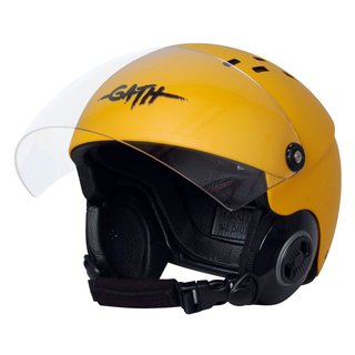 GATH Helm RESCUE Safety Rot matt XL SMOKE Visier