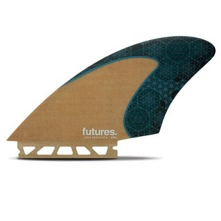 FUTURES Twin Fin Set Rasta Keel Honeycomb Jute